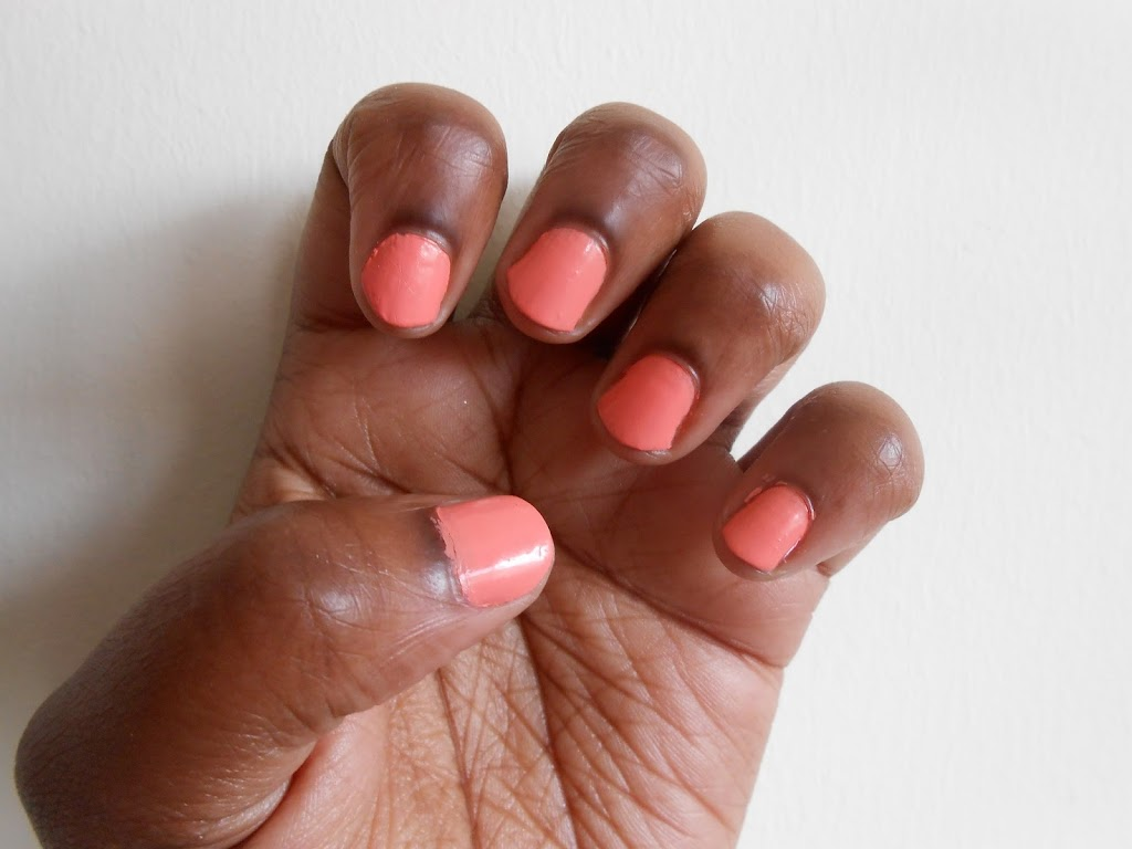 Nail of the Week: Peach Sorbet