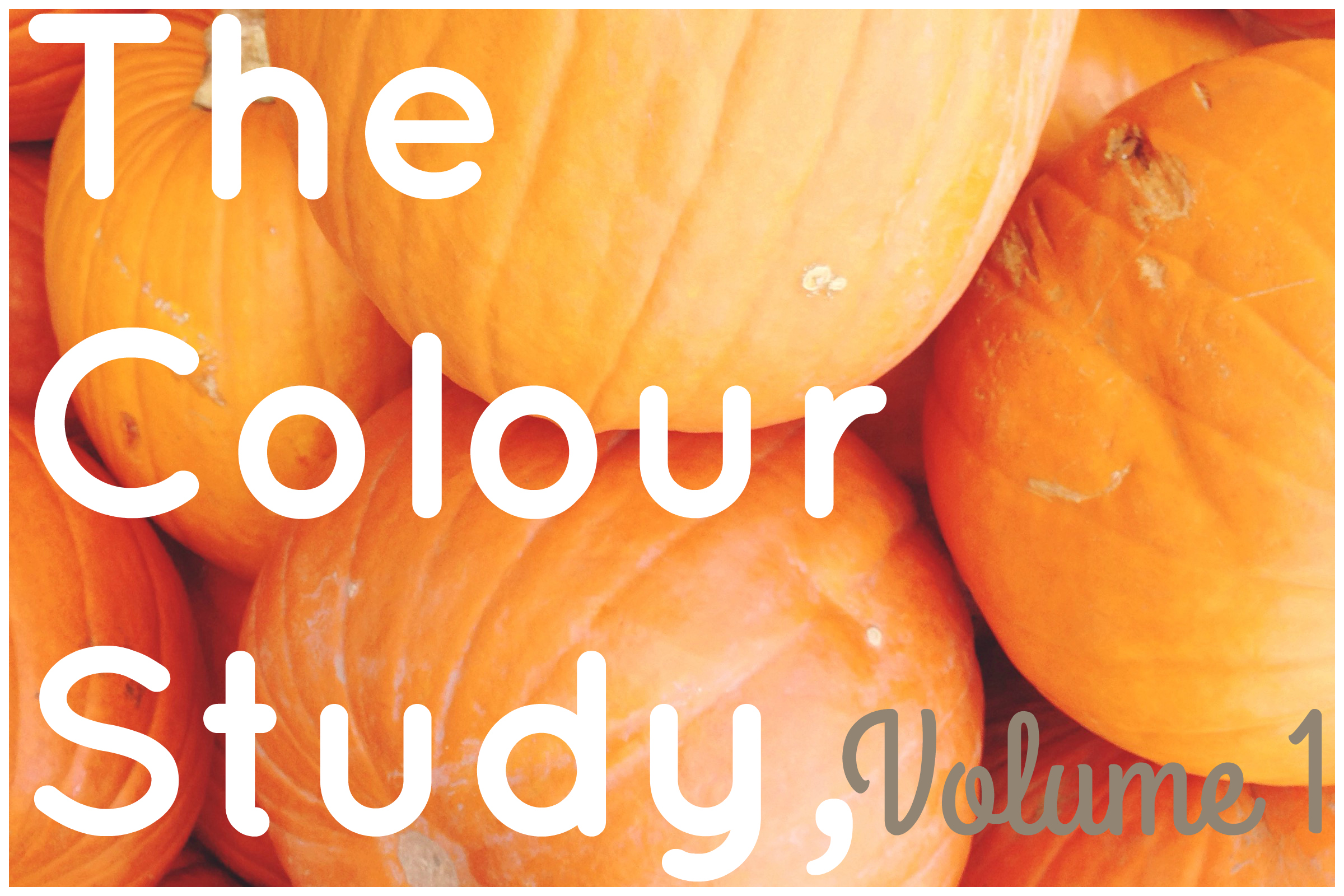 The Colour Study, Vol. 1